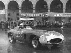 Mille Miglia 1956 Russo Ferrari 850 Monza
