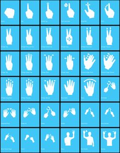 Free Gesture Icons: vector based icons created to aid in design and development of multi-touch interfaces. Hat Tip: @smashingmag.  Source: http://gesturecons.com/