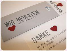 Hochzeitskarten Einladungskarte Aylando Be Grey