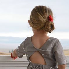 Starlight City dress pattern by Lil Luxe Collection. Love that back detail.