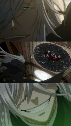Undertaker's eyes are BEAUTIFUL    kuroshitsuji book of atlantic / #anime