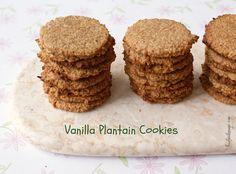 Recipe: Vanilla Plantain Cookies (Grain-free, Paleo, AIP) post image