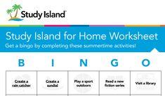 Study Island for Home Study Island, Rain Catcher, Bingo Sheets, Free Summer, Parents As Teachers, Parent Resources, Activity Sheets, Home Free, Encouragement