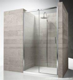 Glas-Duschkabine / für Nischenduschen / Schiebetüren GLISS: DN VISMARAVETRO