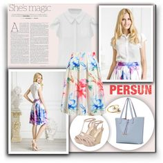 How To Wear Persun Outfit Idea 2017 - Fashion Trends Ready To Wear For Plus Size, Curvy Women Over 20, 30, 40, 50