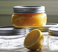 Home canning lemon curd. My son is addicted to Trader Joe's curd... I just may need to make this! Looked around - seems I'll NEED to make small batches. With the egg, this is good for 4 months. Tops.