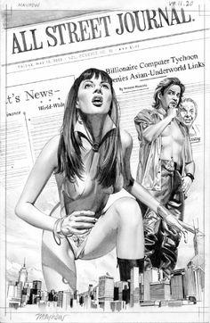 Mike Mayhew Original Vampirella 11 Page 20 Artwork Comic Art