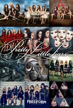 Pretty Little Liars season promo posters promotional poster Prety Little Liars, Pretty Little Liars Seasons, Pretty Little Liars Finale, Pretty Little Liars Books, Pretty Little Liars Outfits, Best Tv Shows, Favorite Tv Shows, My Favorite Things, Grey's Anatomy