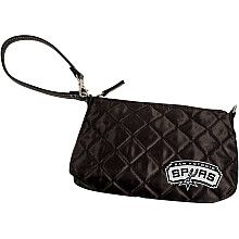 San Antonio Spurs Quilted Wristlet
