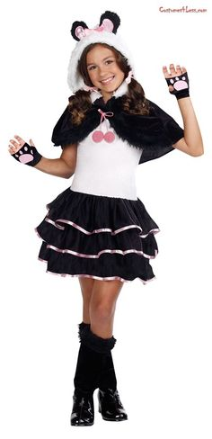 This Halloween choose a panda costume for a unique and funny costume idea! We have panda costumes for the whole family, including adult and child panda costumes, as well as red panda costumes and Kung Fu Panda costumes. Costumes For Teenage Girl, Halloween Costumes For Teens Girls, Halloween Costumes For Girls, Girl Costumes, Costumes For Women, Halloween Halloween, Costume Ideas, Mime Costume, Trendy Halloween