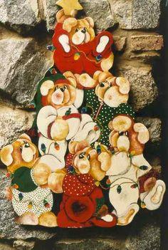 Resultado de imagen para imagenes de navidad en madera country