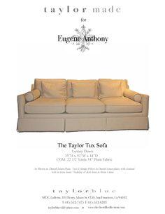 Taylor Tux Sofa