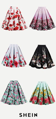 Print Box Pleated Skirt Teen Fashion Outfits, Mode Outfits, Classy Outfits, Pretty Outfits, Pretty Dresses, Fashion Dresses, White Shirts Women, Blouses For Women, Pleated Skirt