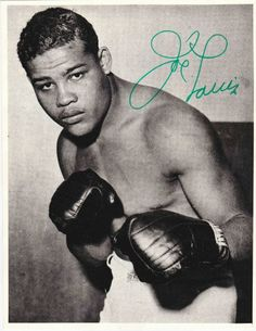 Joe Louis signature