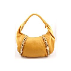 Michael Kors via Polyvore featuring bags, handbags, shoulder bags, white leather shoulder bag, shoulder handbags, white handbags, real leather handbags and 100 leather handbags