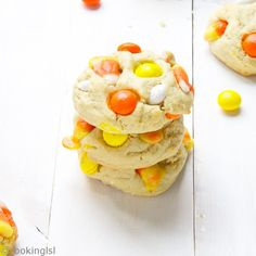 ... more candy corn this fall candy corn white chocolate m m cream cheese