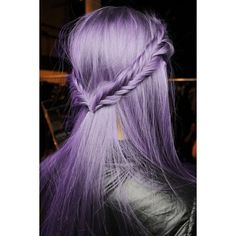Best Temporary Lilac Nicole Richie Hair Dye Set | LILAC - 6 Lavender... ❤ liked on Polyvore featuring beauty products, haircare, hair color and hair