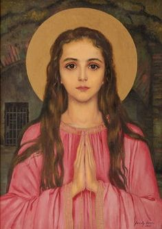 She has the most amazing story! Saint Philomena