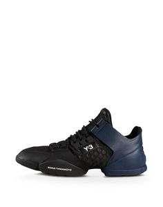Clearance New Arrival Free Shipping Hot Sale Y-3 Kanja leather and fabric sneakers Multi Coloured 6iHvOdL6