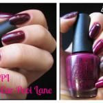 O.P.I. -  In The Cable Car-Pool Lanehttp://betty-nails.blogspot.pt/2013/10/breast-cancer-awareness-manicure.html