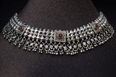BEDOUIN WEDDING: Old silver ethnic necklace by GlobalAdornments