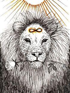 strength lion