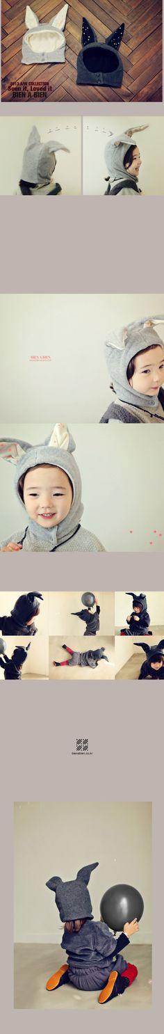 かわいい子服   ベビー服   キッズファッション輸入通販のセレクトショップ【Peach Baby】bien a bien ビエナビエン ラビットボネット
