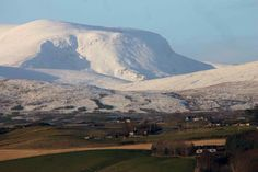 A pic of Ben Wyvis taken from Dingwall
