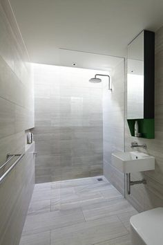 Wet Room Design Ideas If you are thinking about ways to spruce up your interior then you should look into wet rooms. What is a wet room you ask? Simple: its a new approach to bathroom design in which there is no tub shower screen or tray. Modern Bathroom Tile, Beige Bathroom, Bathroom Floor Tiles, Grey Bathrooms, Small Bathroom, Tile Floor, Bathroom Trends, Beautiful Bathrooms, Bathroom Ideas