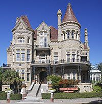 Bishop's Palace, 1402 Broadway St., Galveston