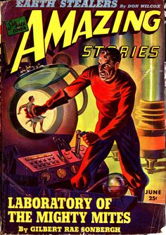 Amazing Stories: June 1943 - Cover art by Hadden