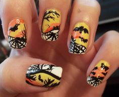 My hand at an awesome halloween design