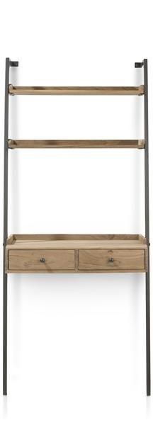 Henders & Hazel: etagere + bureau Indra - hauteur 165 cm 249 € | Groupes produit: Tables | Dimensions: Hauteur: 165 cm Largeur: 75 cm Profondeur: 40 cm