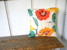 lily pads and flowers for your home pillow cover by pillowhappy
