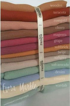 Nudes Color Combinations For Clothes, Fabric Photography, Hijab Collection, Abaya Designs, Fashion Vocabulary, Fabric Names, Hijab Tutorial, Islamic Fashion, Colour Pallete
