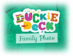 Duckie Deck Family Photo by Duckie Deck, via Behance