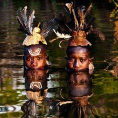 The Suri tribe, Ethiopia, Africa