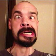 One of the many faces of Aaron Goodwin.  :)
