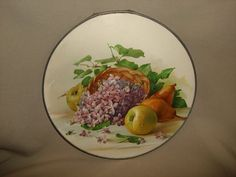 Antique Victorian FRUIT & FLOWERS Still by PastPossessionsOnly