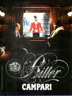 SP86 Pubblicità Advertising 1984 Bitter Campari