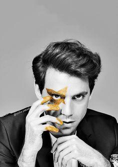 "mikayatool: ""Mika for Elle Men "" Mika Singer, Smiling Person, Eye Of Horus, Alternative Music, Grace Kelly, Music Is Life, Cute Guys, Mtv, People"