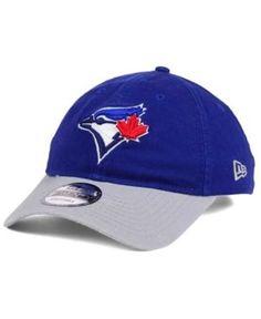 online store d59bf 068b7 New Era Toronto Blue Jays Relaxed 2Tone 9TWENTY Strapback Cap   Reviews -  Sports Fan Shop By Lids - Men - Macy s