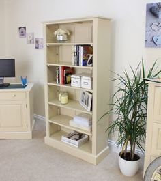 Cadence Tall Open Bookcase provides outstanding durability whilst appearing beautifully aged. For more info visit http://solidwoodfurniture.co/product-details-pine-furnitures-2877-cadence-tall-open-bookcase.html