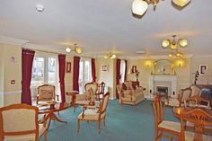 Check out this property for sale on Rightmove! - 1 bedroom Retirement flat for sale in Bartholomew Court, Warrington, - 1 Bedroom Apartment, Apartment Kitchen, Apartment Living, 1 Bedroom Flat, One Bedroom, Simple Apartment Decor, Ceiling Light Fittings, Fitted Bathroom, Built In Wardrobe