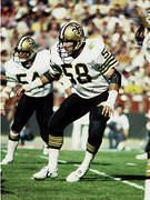 Joe Federspiel was a 4th round pick from Kentucky in 1972. He would play 9 seasons for the Saints and start a total of 121 games.  He finished his career with 5 interceptions and 10 fumble recoveries.  Thanks to NFL Photos: Top 10 All-Time Players from Kentucky
