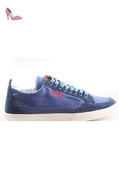 Guess , Baskets pour garçon Bleu Avio - Chaussures guess (*Partner-Link)