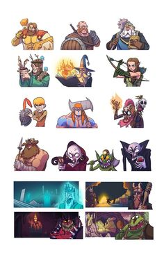 Some of the artwork I made months ago for the cardgame Tavern fame tabletyrantgames.com.au/tag/ta…