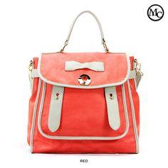 Mark Ciel Carrière Satchel Bag - Assorted Colors $39.00