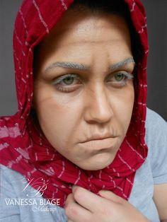 Vanessa Biage Makeup: Maquiagem artística de envelhecimento - Inspiração.