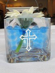 First Communion/Baptism Vinyl Crosses For by MarysPintsizedPieces